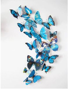 12 Pcs/Lot PVC DIY Butterfly Wall Stickers Home Decor Poster for Kitchen Bathroom Fridge Adhesive to Wall Decals Decoration 3d Butterfly Wall Decor, Diy Butterfly, 3d Butterfly Wall Stickers, Butterfly Decorations, Butterfly Wedding, Wall Stickers Home Decor, Office Wall Decor, Decor Room, Room Decorations