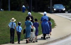 The Amish are one of the fastest-growing religious groups in North America, according to a census by the Ohio State University. The skyward growth has made Ohio home to more than 60,000 Amish residents -- the most in any state.