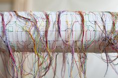 Artsy Editorial: In the Studio with Ghada Amer: Sewing and Embroidery