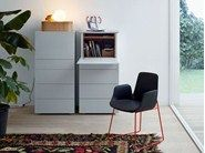 ABBINABILI Chest of drawers and Bedside Tables by Poliform