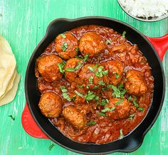 Lamb Meatballs in a Spicy Curry