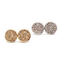 JL Rocks Earrings Druzy Ring, Rocks, Fine Jewelry, Earrings, Ear Rings, Stone, Jewlery, Beaded Earrings Native, Stones