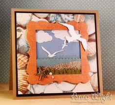 AnnaWight stamp and dies card die cut