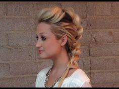 Confessions of a Hairstylist by Jenny Strebe: Pull Through Mohawk Braid hair tut... - http://urbanangelza.com/2015/10/12/confessions-of-a-hairstylist-by-jenny-strebe-pull-through-mohawk-braid-hair-tut/?Urban+Angels  http://www.urbanangelza.com