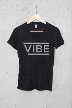 Women's VIBE Graphic T-Shirt - Black