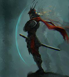 Cyborg Samurai Thing by victter-le-fou on DeviantArt