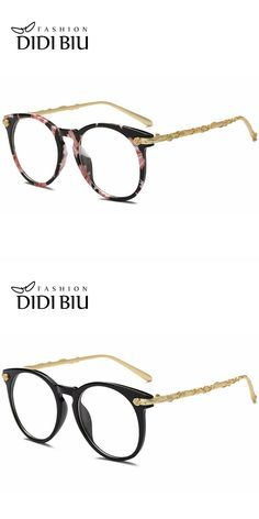 6b8d348bd9 Didi top grace flower eyeglass women luxury brand gold rose carved optical  frame clear lens round