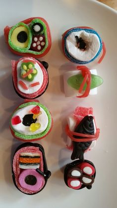 Sushi candy Anna, Sugar, Cookies, Desserts, Food, Biscuits, Meal, Deserts, Essen