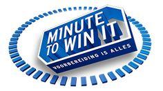 Minute to win it, spellen om zelf te organiseren - Plazilla.com