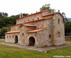 Iglesia de San Salvador de Valdediós Esta sublime obra del prerrománico hispano es conocida popularmente como El Conventín
