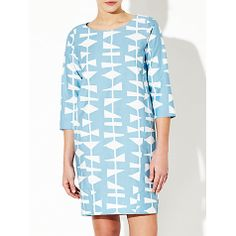 Lucienne Day 1954 Cocoon Dress at @John Lewis #print #pattern #midcentury #dress #cocoon