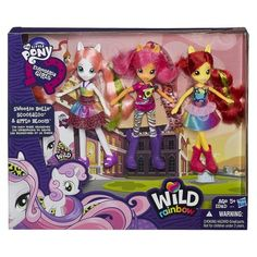 My Little Pony Equestria Girls Crusader 3 Pack