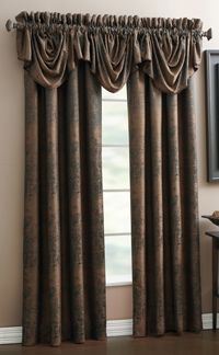 The Exeter lined tailored curtain panel by Croscill is the perfect accent for your windows. Exeter is a solid color polyester, accented with splashes of coordinating colors.  #Rod #Pocket #Curtains