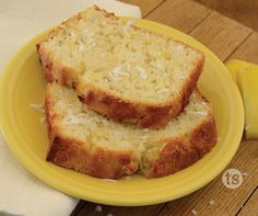 Coconut Pineapple Bread - Beer Bread with a touch of refreshing coconut and pineapple to add a little Hawaiian flavor.