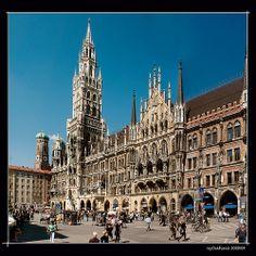 Down Town Munich - Marienplatz