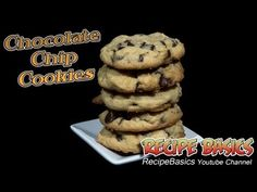 Classic Chocolate Chip Cookies Recipe ! - Super Easy ! - YouTube