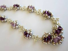 Amethyst Necklace https://www.etsy.com/listing/183461526/pdf-beaded-necklace-tutorial-seed-bead?ref=listing-shop-header-1