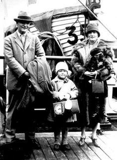 F. Scott, Scottie and Zelda Fitzgerald