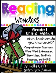 This bundle includes supplemental word work, comprehension questions, story maps, grammar activities, a phonics and comprehension tri-fold, whole group story tri-fold, literacy stations, anchor charts, and much more. The activities are perfect for whole group and guided reading groups.