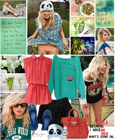 """""""I have just one day, today, and I'm going to be happy in it."""" by leannesugarplum ❤ liked on Polyvore"""