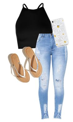"""""""summer time sadness"""" by leglouie on Polyvore featuring Boohoo and Hollister Co."""