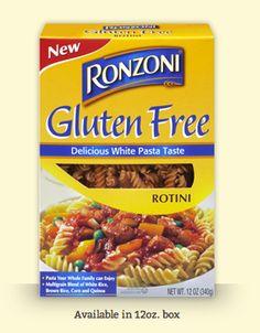 Ronzoni #GlutenFree #Pasta @Ron Leonard Pasta