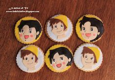 Le Delizie di Ve: Heidy and Peter cookies Cartoon Cookie, Spa Party, Biscotti, Party Planning, Birthdays, Cartoons, Cookies, Disney, Blog