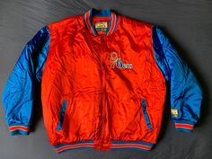 Men s G-III Hardwood Classics NBA Philadelphia 76ers satin jacket size XXL d0e18be32