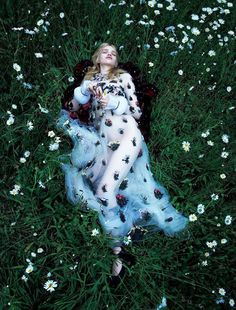 Fashion Photography...Stella Lucia by Camilla Akrans for Vogue Japan.