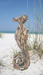 Driftwood Seahorse - XL