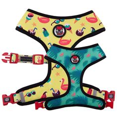 Comfy, cute, and functional — that's what the Oui Oui Frenchie Reversible Dog Harness offers you and your pet. Original Oui Oui Frenchie design Reversible for 2 different looksQuick-drySafety lockAdjustable strap for supportReflective safe. Pool Party Fashion, Milk Shop, Dog Furniture, Collar And Leash, Dog Collars, Pool Supplies, Dog Harness, Dog Leash, Oui Oui