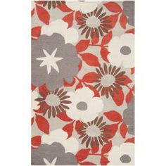 Surya Tepper Jackson Feather Gray 3 ft. 3 in. x 5 ft. 3 in. Area Rug - DRE4408-3353 at The Home Depot