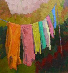 Rupert Peploe - Washing Line
