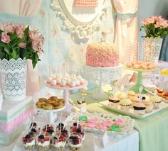 Hostess with the Mostess® - Shabby Chic Precious Moments 1st Birthday