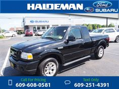 2010 Ford Ranger Sport Black $12,246 163247 miles 609-608-0581 Transmission: Automatic  #Ford #Ranger #used #cars #HaldemanFord #HamiltonSquare #NJ #tapcars