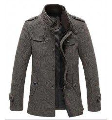 Men's Fashion Outerwear   European Style Outerwear For Men - leatherandcotton