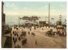 Old photos of Blackpool in Lancashire (Page in England, United Kingdom of Great Britain Blackpool England, London England, Moorish Revival, Kingdom Of Great Britain, Seaside Resort, Filming Locations, Old Photos, Vintage Photos, Great Places