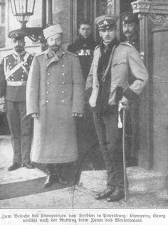 Prestolonaslednik  Djordje u poseti u Sankt Peterburg - Crown Prince George during a visit in Saint Petersburgu