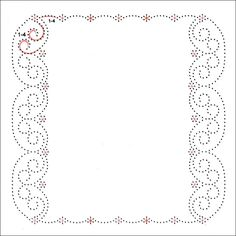 Photo: Embroidery Cards, Embroidery Patterns, Hand Embroidery, Card Patterns, Stitch Patterns, Stitching On Paper, Parchment Craft, Paper Frames, Card Sketches