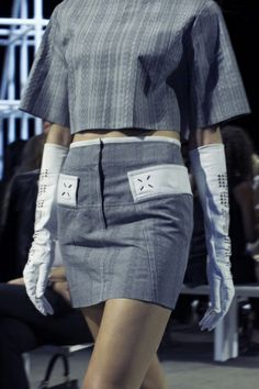 Alexander Wang Spring 2014 | Photos by Victorial Will, Vogue #NYFW #FashionWeek