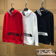 D&G Hoodie Contact me: Source by Clothing Hoody Kpop, Dope Outfits For Guys, Trendy Hoodies, Clothing Logo, Nike Outfits, Boys Shirts, Swagg, Mens Sweatshirts, Menswear