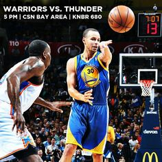 IT'S GAME DAY!! #Warriors looking to bounce back from last night's loss when they take on the @okcthunder. Who do you think will lead the Dubs in scoring tonight?