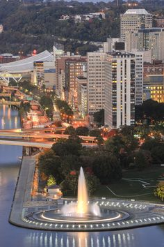 Point State Park-Pittsburgh, PA. This is the point where the Allegheny River and…