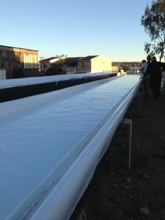 """Dura-Skrim 20WW.  This is the plastic sheeting the """"experts"""" recommend and use for aquaponics applications."""