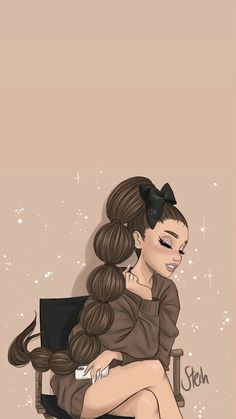 Girls Motivational Quotes, life changing quotes and Best Animation pictures. Ariana Grande Anime, Ariana Grande Drawings, Ariana Grande Cute, Ariana Grande Photoshoot, Ariana Grande Pictures, Ariana Grande Background, Ariana Grande Wallpaper, Girl Cartoon, Cartoon Art