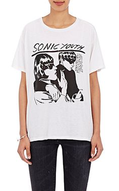 We Adore: The Cotton-Cashmere Sonic Youth T-Shirt from R13 at Barneys New York