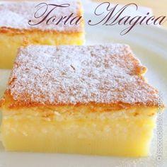 La ricetta originale della Torta magica alla vaniglia, impossibile sbagliarla !