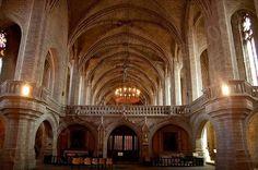 Abbaye de La Chaise-Dieu - Le jubé - Haute-Loire, Auvergne