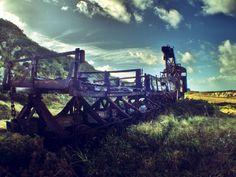 Old abandoned train, Alderney, Channel Islands Source: oktimeforplanb (reddit)