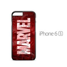 Marvel Comics Logo iPhone 6s Case